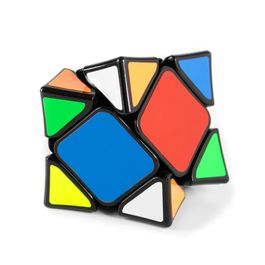 Draaikubus Skewb speedcube magnetisch, Wingy Skewb van QiYi