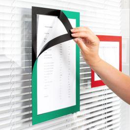 Marco magnético adhesivo A4 para colgar notas, formato A4