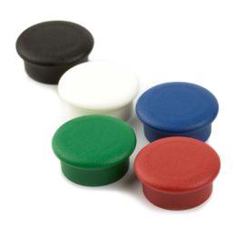 magneti da ufficio 'Boston Xtra mini' rotondi tiene ca. 1,5 kg, puntine magnetiche al neodimio, Ø 20 mm, set da 10, in diversi colori