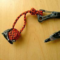 Magnetische apenvuist knoop