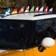Magnetic flag for your car