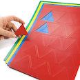 voor whiteboards & planborden, 25 symbolen per A4-blad, in verschillende kleuren