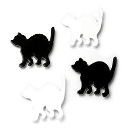 LIV-69, Kitty, katten-koelkastmagneten, set van 4
