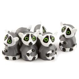 LIV-89, Lemuren, sterke koelkastmagneten, set van 6