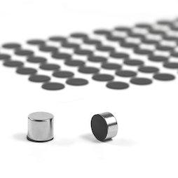 M-SIL-12, Siliconschijfjes Ø 12 mm, zelfklevend, 98 stuks per set