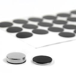 M-SIL-20, Siliconschijfjes Ø 20 mm, zelfklevend, 36 stuks per set