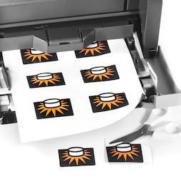 MIP-A4-02, Magneetpapier mat, ideaal voor fotomagneten, met inkjet printer te bedrukken, set van 10 in A4-formaat