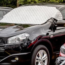 M-89, Voorruitbeschermer 2 in 1, zonwering & antivriesdeken in éen, ter magnetische bevestiging aan de auto