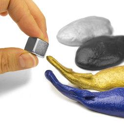 M-PUTTY-FERRO, Intelligent putty magnetisch, Ferromagnetische klei, verschillende kleuren, levering zonder magneet