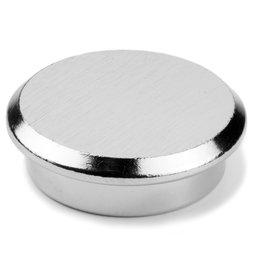 PBM-30, Steel 30, kantoormagneet neodymium van staal, Ø 30 mm