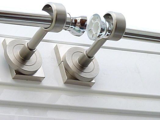 Magneettoepassingen gordijnroe zonder boren met magneten bevestigen - Tringle de rideau sans percer ...